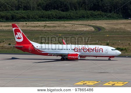Boeing 737 Of Airberlin Airline
