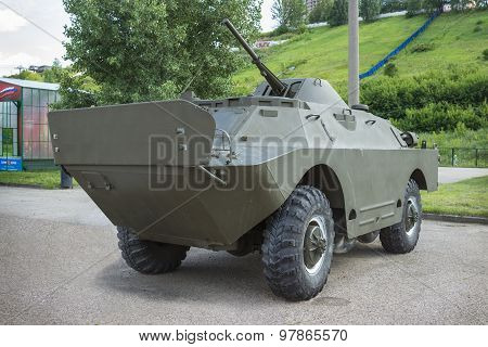 Soviet Armored Reconnaissance And Patrol Vehicle Brdm-2