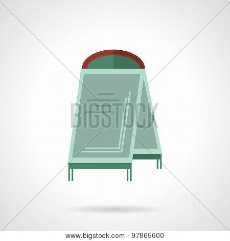 Sandwich board flat vector icon