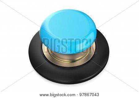Light Blue Push Button