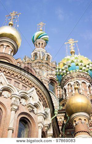 Savior on Spilled Blood cathedral in Saint-Petersburg