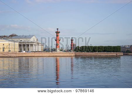 Vasilevsky Island in St. Petersburg
