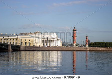 Vasilevsky Island in St. Petersburg