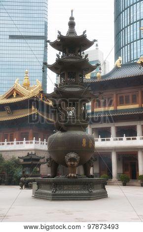 Jingan Temple Prayer Urn