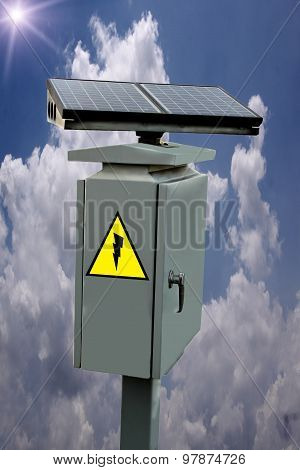 Solar Energy, Solar Panels, Cabinets, Steel, Power, Nature, Sky.