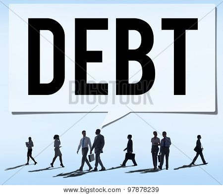 Debt Obligation Credit Finance Debit Concept