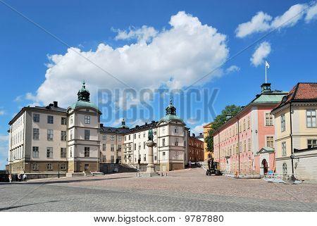 Stockholm. Birger Jarl Area