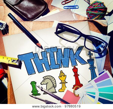 Think Ideas Brainstorm Creative Thoughts Analysis Concept