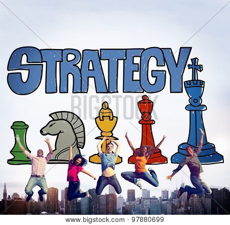Strategy Business Analysis Thinking Ideas Thoughts Planning Concept