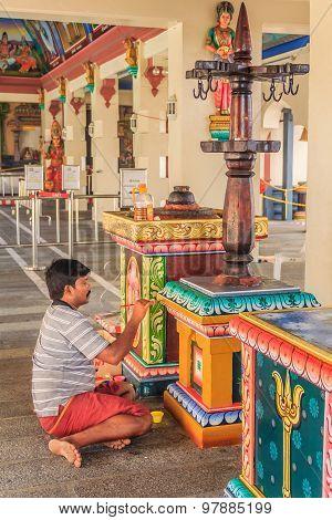 Sri Mariamman Hindu Temple Artist