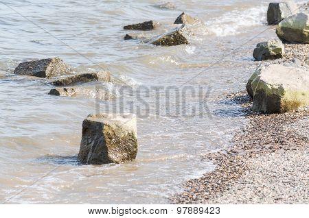 Riverside With Stones