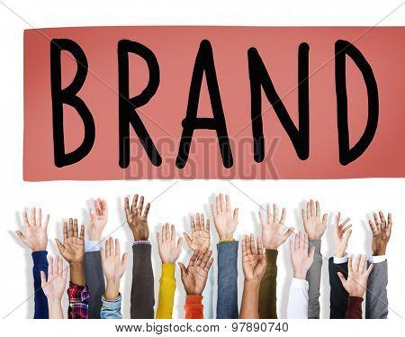 Brand Branding Copyright Trademark Marketing Concept