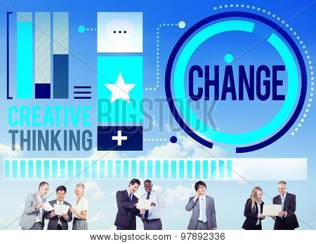 Change Improvement Development Adapting Revolution Concept