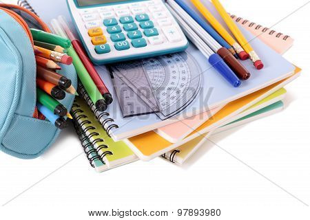 School Supplies With Calculator