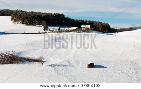Winter Landscape, Italy