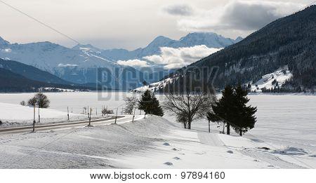 Winter Scene, Italy