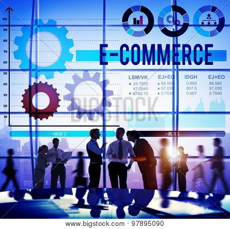 E-commerce Commercial Purchasing Digital Internet Concept
