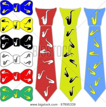 ties and the bow tie for saxophone