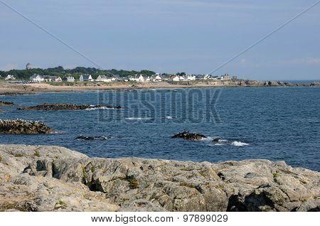 France, La Cote Sauvage In Batz Sur Mer