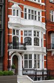 British red brick mansion