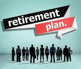 foto of retirement  - Retirement Plan Retirement Planning Pension Concept - JPG