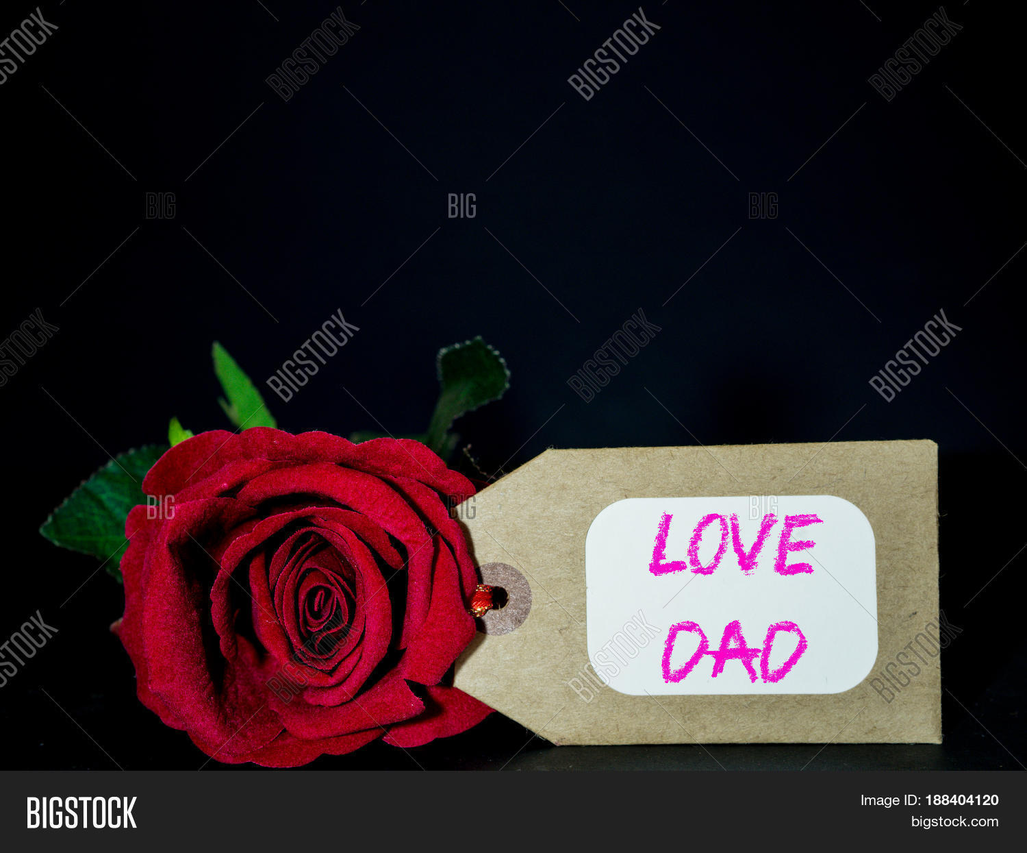 Father's Day Concept. LOVE DAD Image & Photo | Bigstock