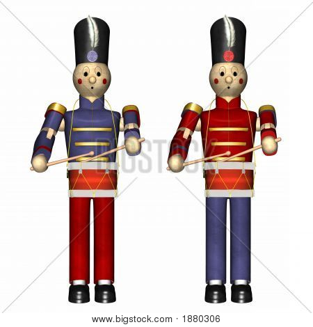 Christmas Toy Soldiers