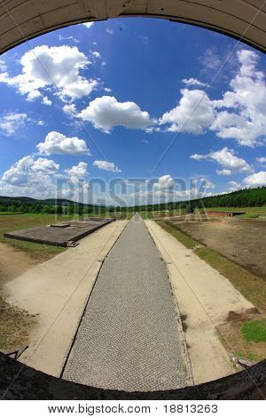 Former Nazi concentration camp Gross-Rosen in Poland
