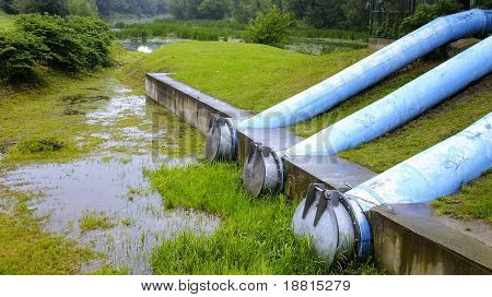 Sewage pipes
