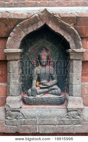 Buda en Swayambhunath