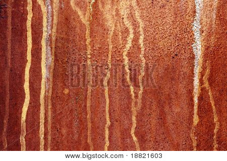Rusty old weathered panel