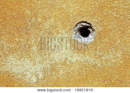 Textura de agujero de bala
