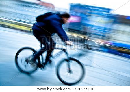 Speeding bike