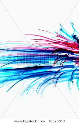 Beautiful abstract lines background