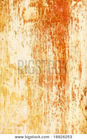 Rusty old metal panel