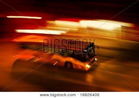 Night bus ride