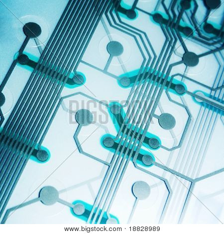 Circuito electrónico moderno