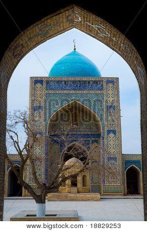 Miri Arab Khan & Poi Kalon Mosque Complex in Bukhara