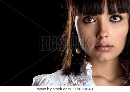 The Beautiful Girl Close Up