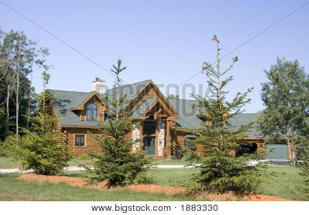 Country Log Home