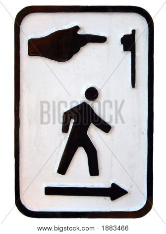 Crosswalk Symbol