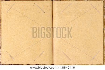 Alte Fotografie Album Papierhintergrund