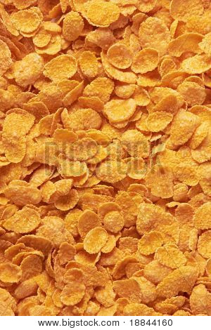 corn-flakes background texture