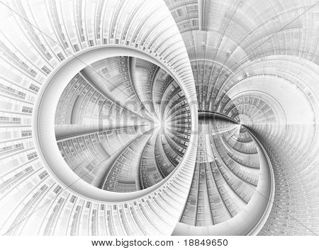 abstract graphic illustration, high quality render