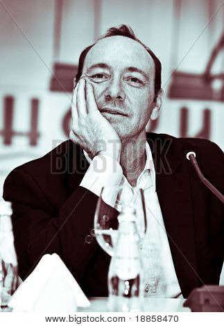 Yalta - 25 September: actor Kevin Spacey visits opening of theater of Chechov on September, 25, 2008 in Yalta, Ukraine