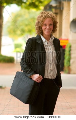Business Woman In The City 12
