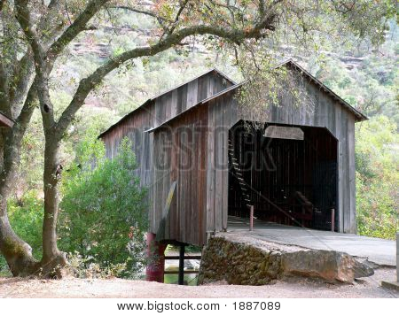 Covered Bridge In California