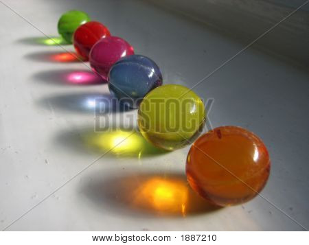 Colourful Bath Oils