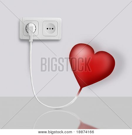 Heart of the electric-operated outlets