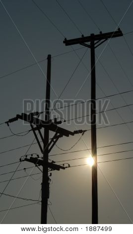 Power Line Sunrise